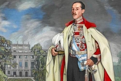 XVII Duque de Alba, Jacobo Fitz-James. Óleo de Zuloaga