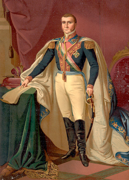Agustín de Iturbide, Emperador de México