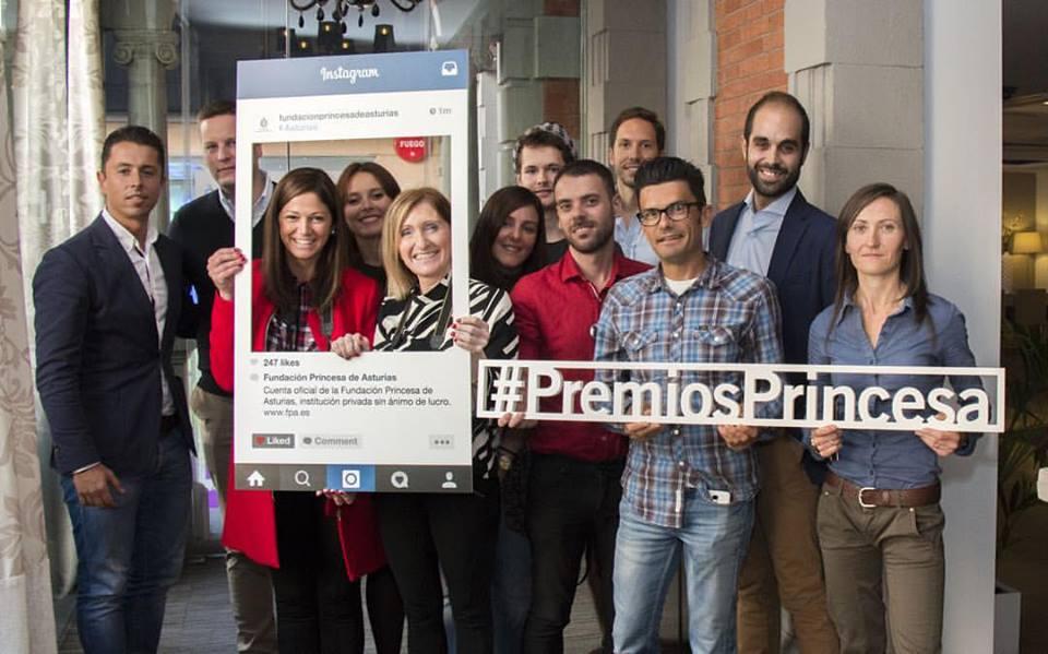 Encuentro con destacados instagramers de Asturias con motivo del World Wide Instameet 2015